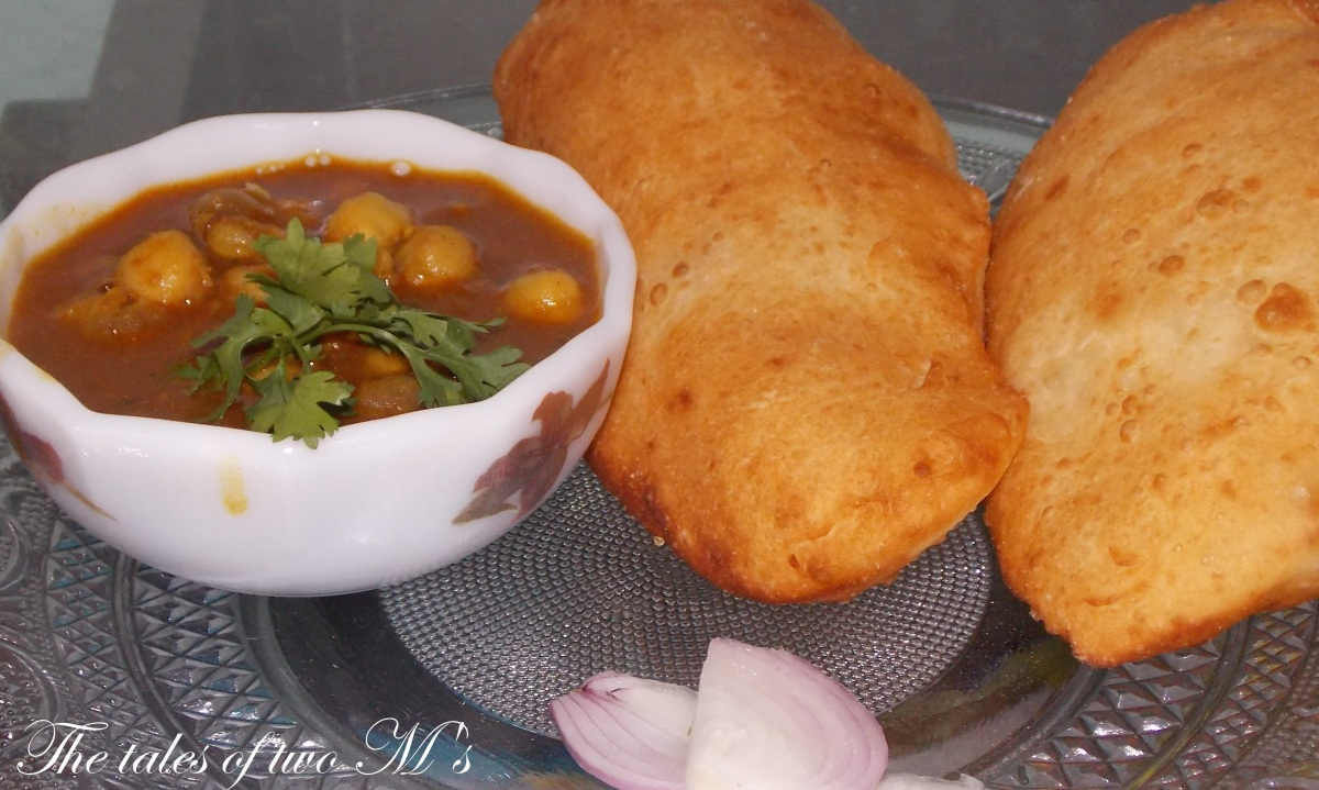 Cholle- Bhature